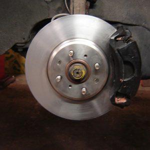 Serien-Bremsanlage